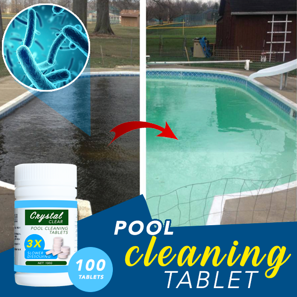 Pool Cleaning Tablet 100 Tablets 88mallonline