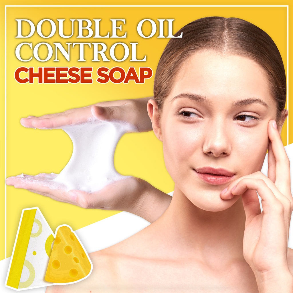 Double Oil Control Cheese Soap
