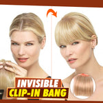 Invisible Clip-In Bang
