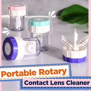 Portable Rotary Contact Lens Cleaner