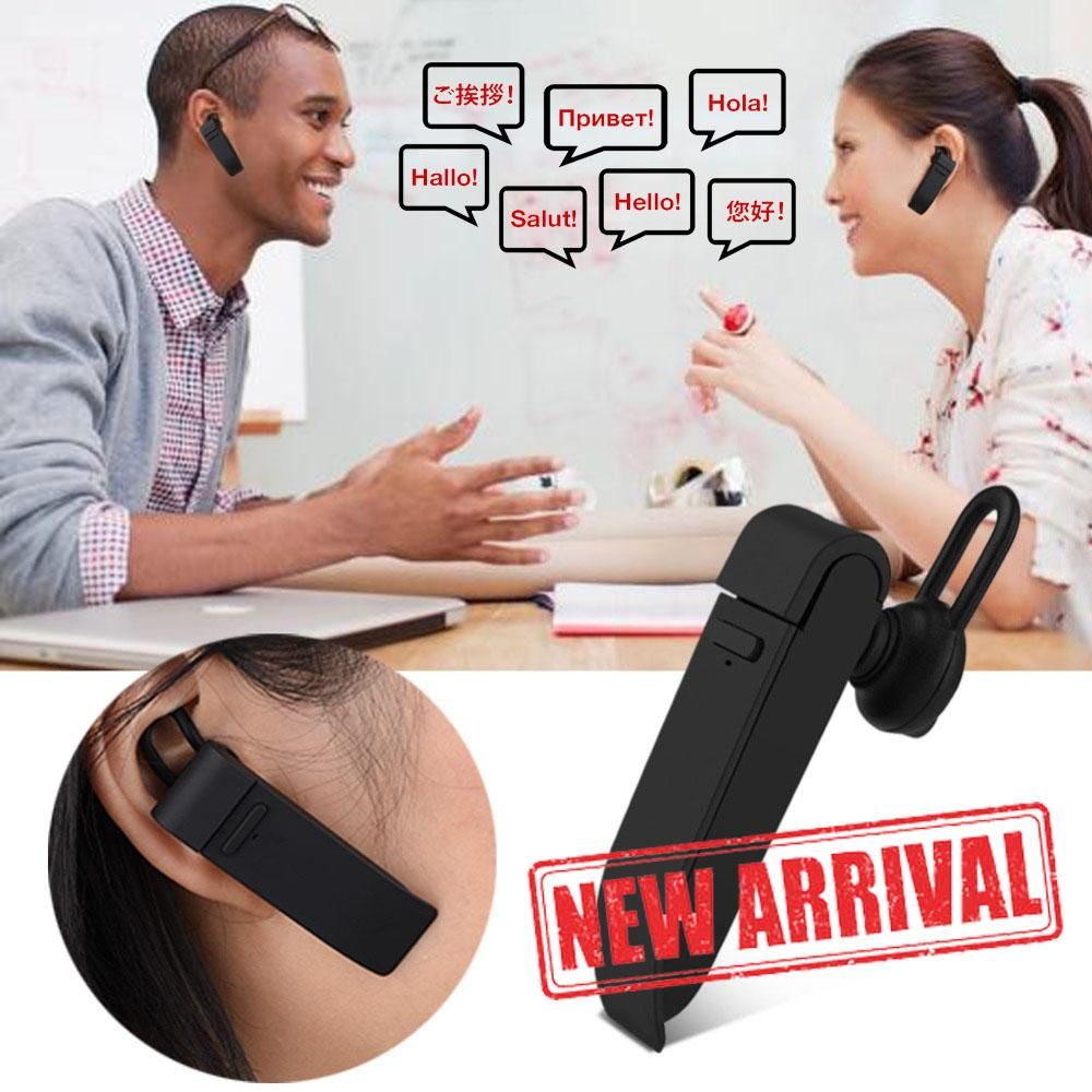 Multi-Language Instant Translator Bluetooth Headphones