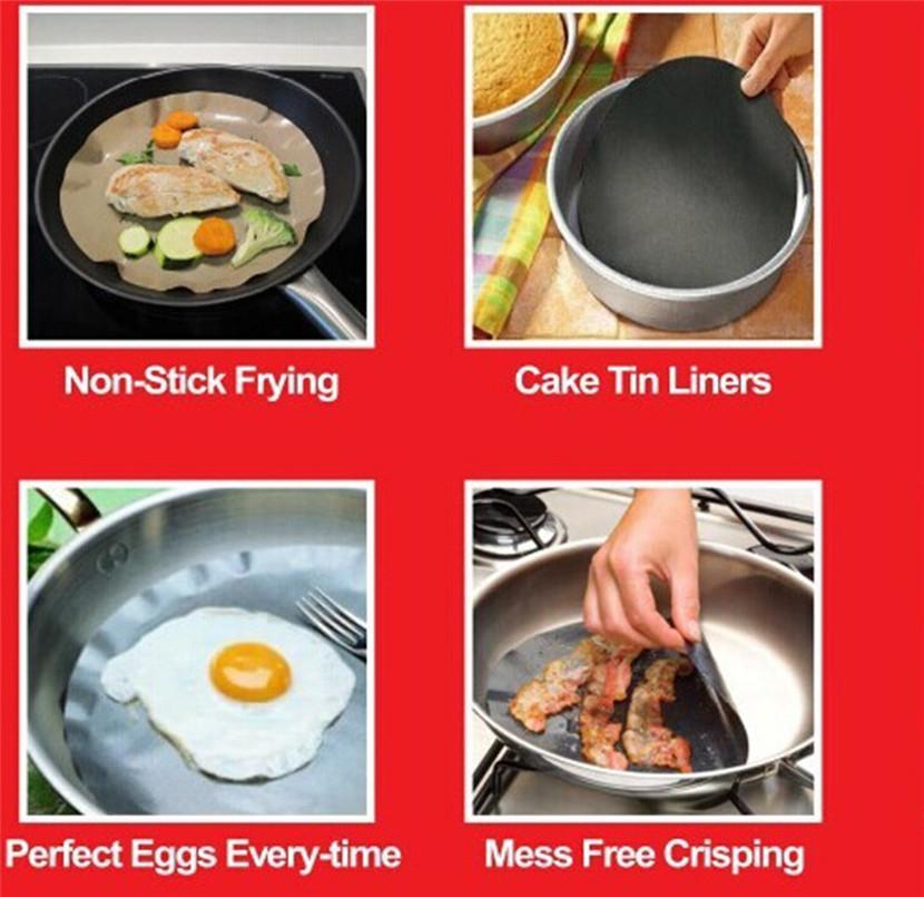 NON STICK FRYING PAN LINER