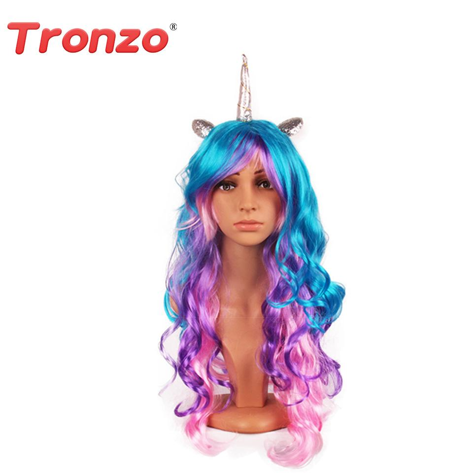 Colorful Unicorn Wig