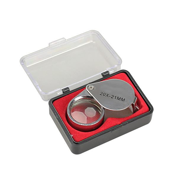 Mini Portable Magnifying Glass