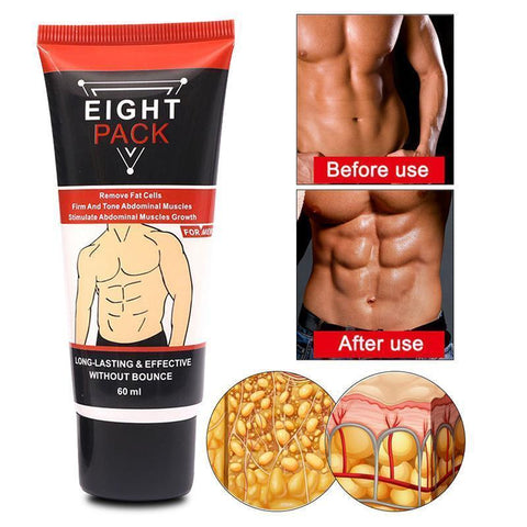 Person - Powerful 8-Pack Muscle Cream