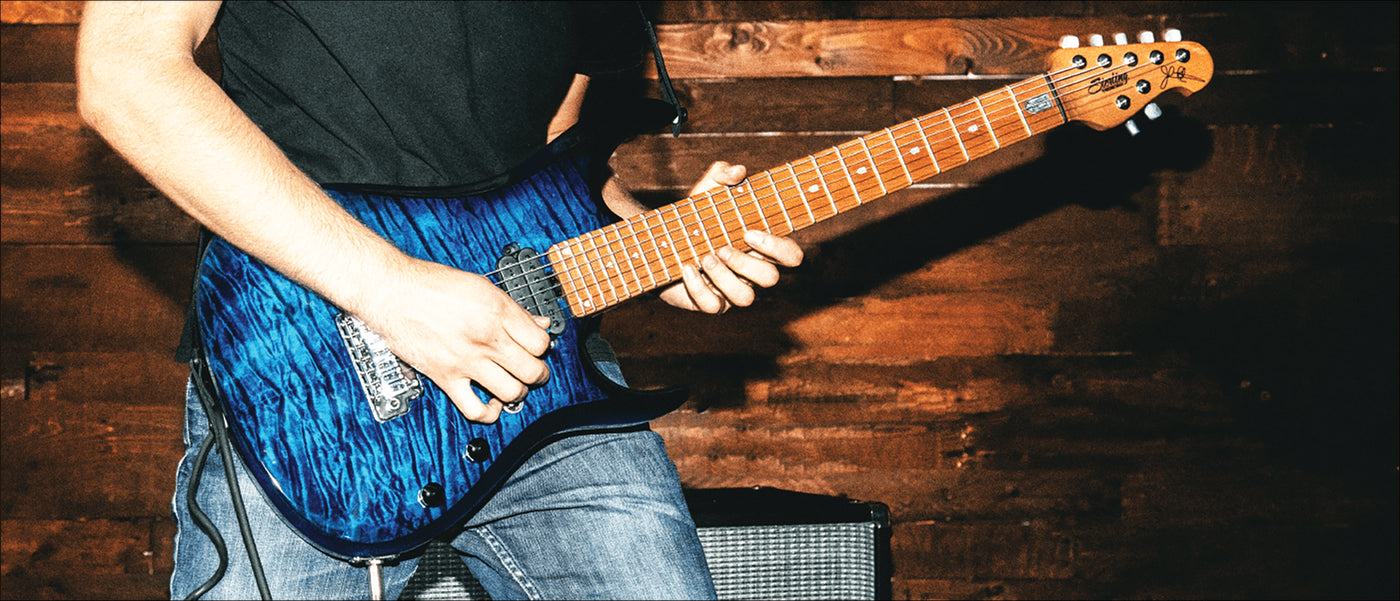 Sterling By Music Man The Guitar Wiring Blog Diagrams And Tips Rg Strat John Petrucci Collection