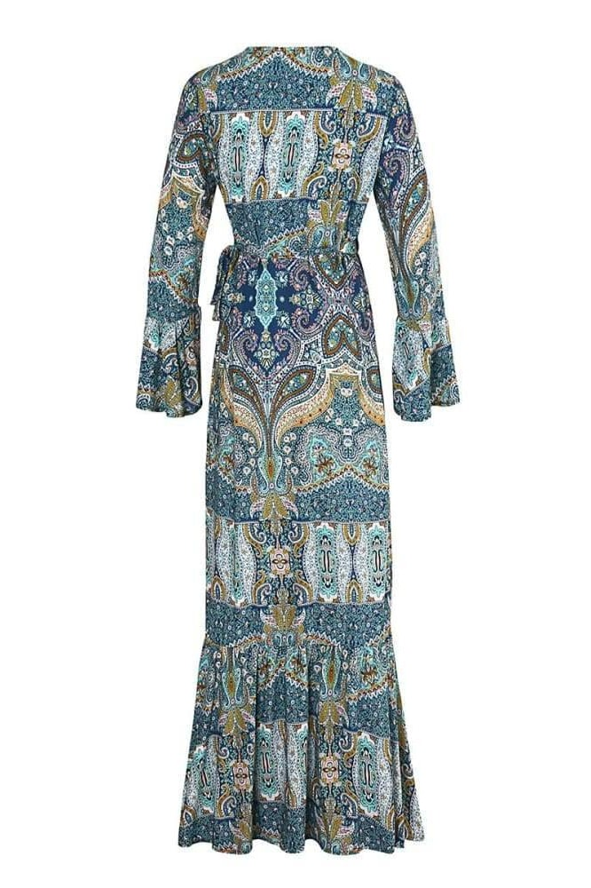 Bohemian Cover Up Dress - Cover-Ups