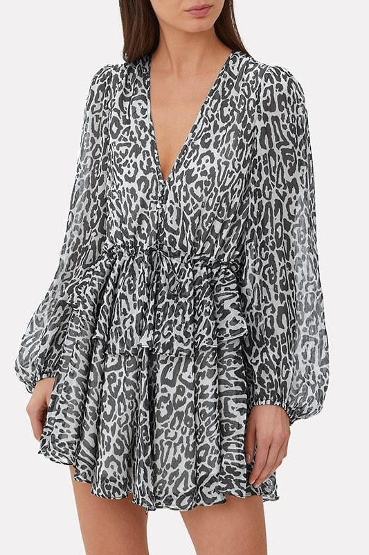 Leopard Dress - S / Leopard - Clothing