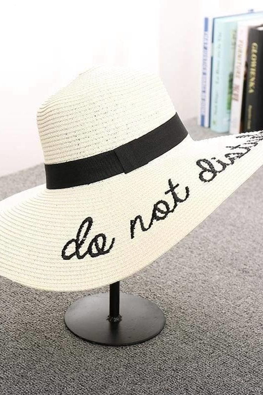 Do Not Disturb Hat - Ivory - Hats