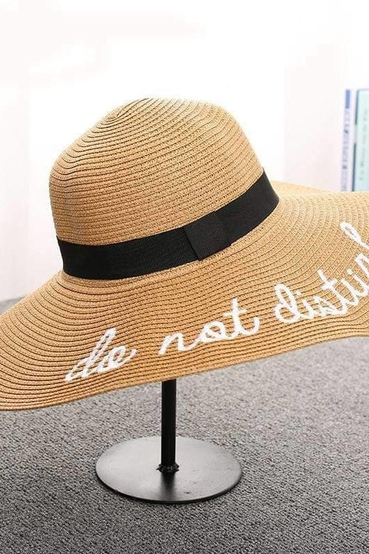 Do Not Disturb Hat - Khaki - Hats