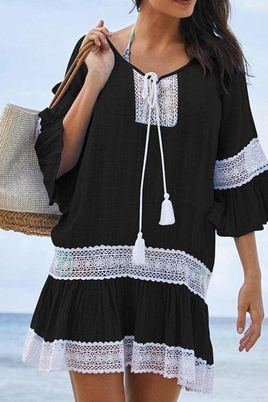 East Hampton Cover-Up - Black / One Size - Cover-Ups