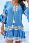 East Hampton Cover-Up - blue / One Size - Cover-Ups