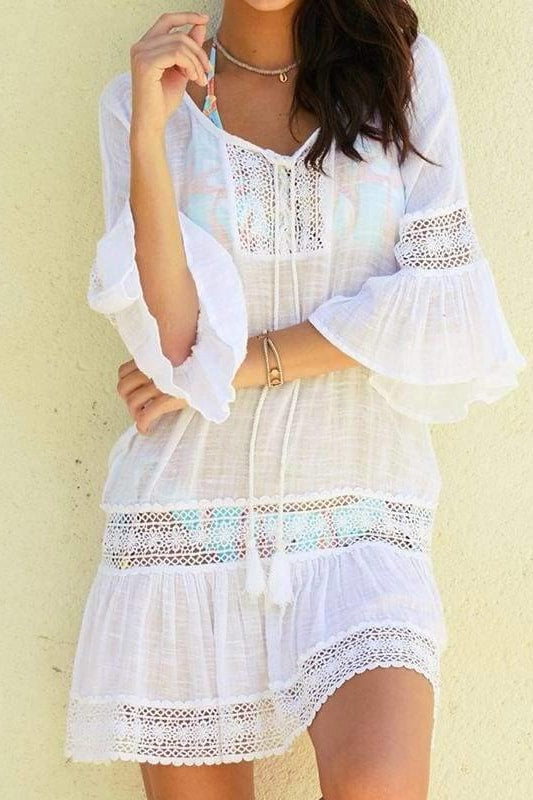 East Hampton Cover-Up - White / One Size - Cover-Ups