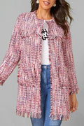 Gracie Tweed Cardigan - S - Jackets