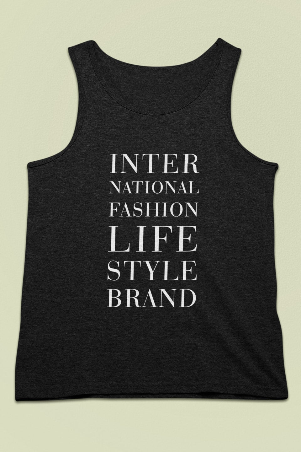 #TEAMSONJA International Fashion Muscle Tank - Clothing