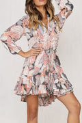 Mystical Floral Dress - Clothing