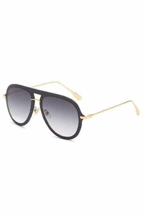 Nia Aviators - Black - Sunglasses