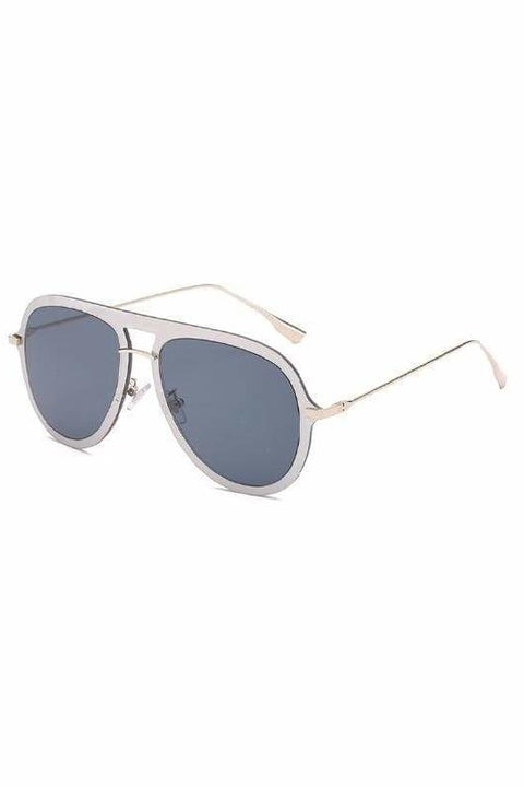 Nia Aviators - Grey - Sunglasses