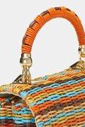 Sadie Straw Chain Bag - Handbags