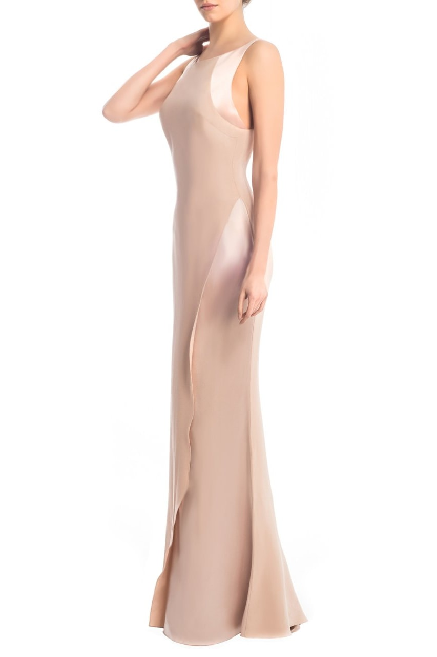 Silk Georgette Gown - Clothing