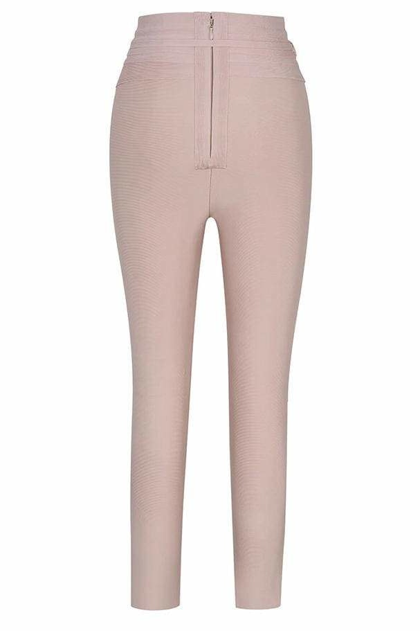 Stephanie High Waist Pants - Clothing