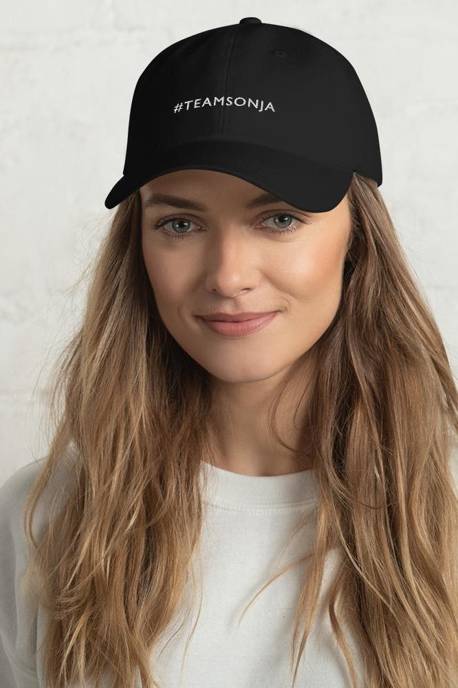 #TEAMSONJA Dad Hat - Black - Hats