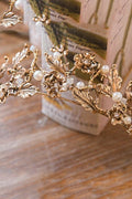 Vintage Baroque Crown - Accessories