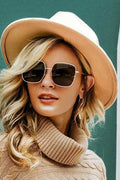Wool Brim Hat - Tan - Hats