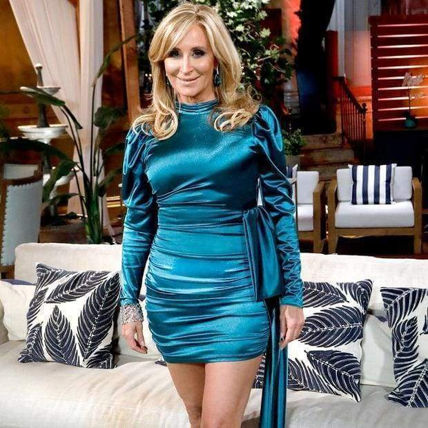 Sonja Morgan posing for a picture