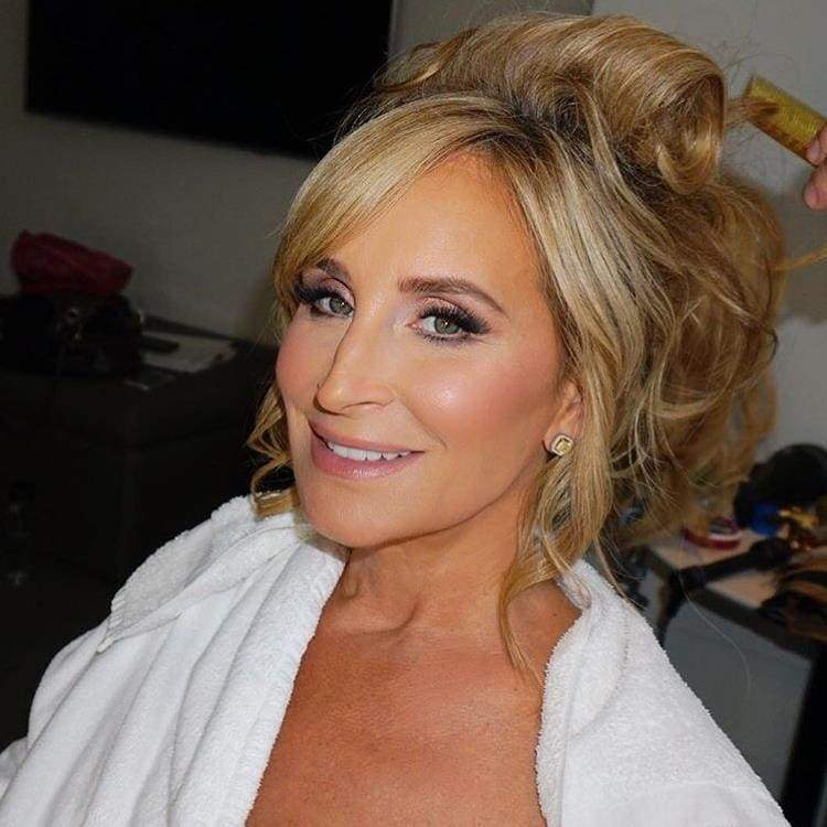 Sonja Morgan smiling for the camera