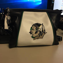 Load image into Gallery viewer, Sport Leather and Faux Leather Handbags - Choose your Team! Crossbody Style Bag