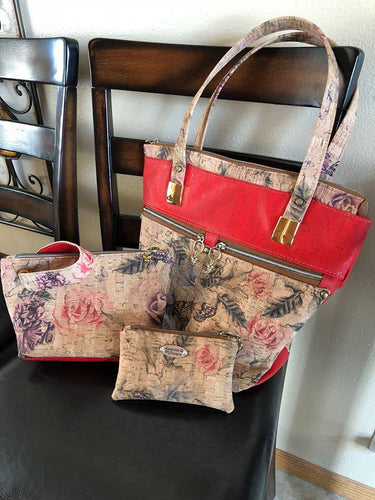 Cork Bag Sets - Tote and two Pouches