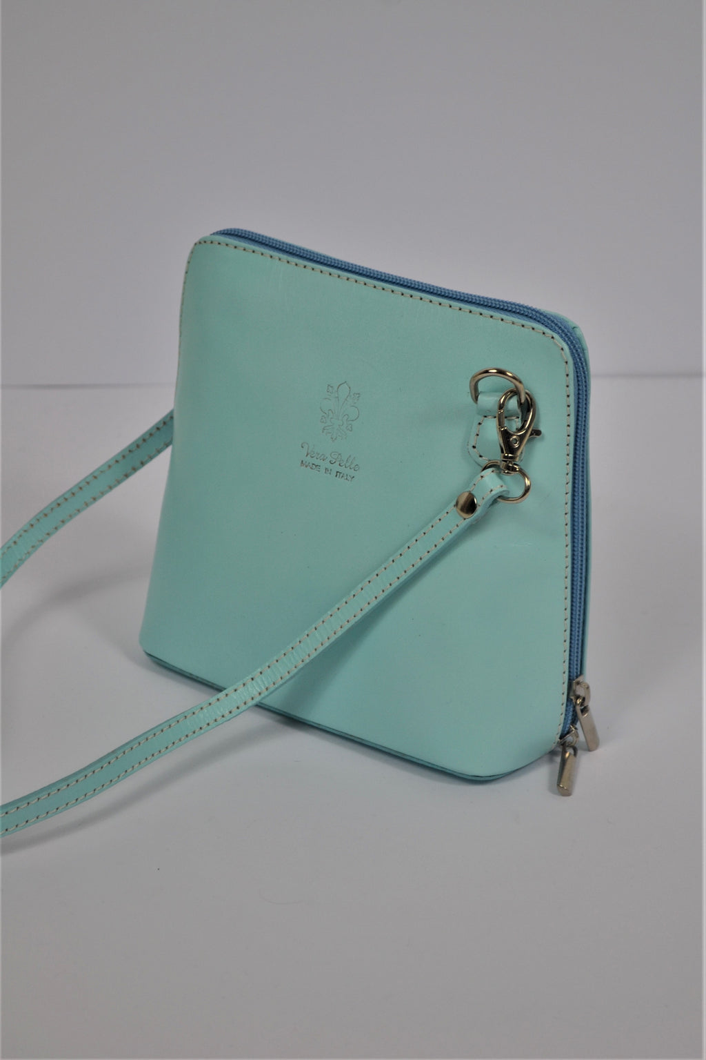 Husen Moda Light Green Leather Bag