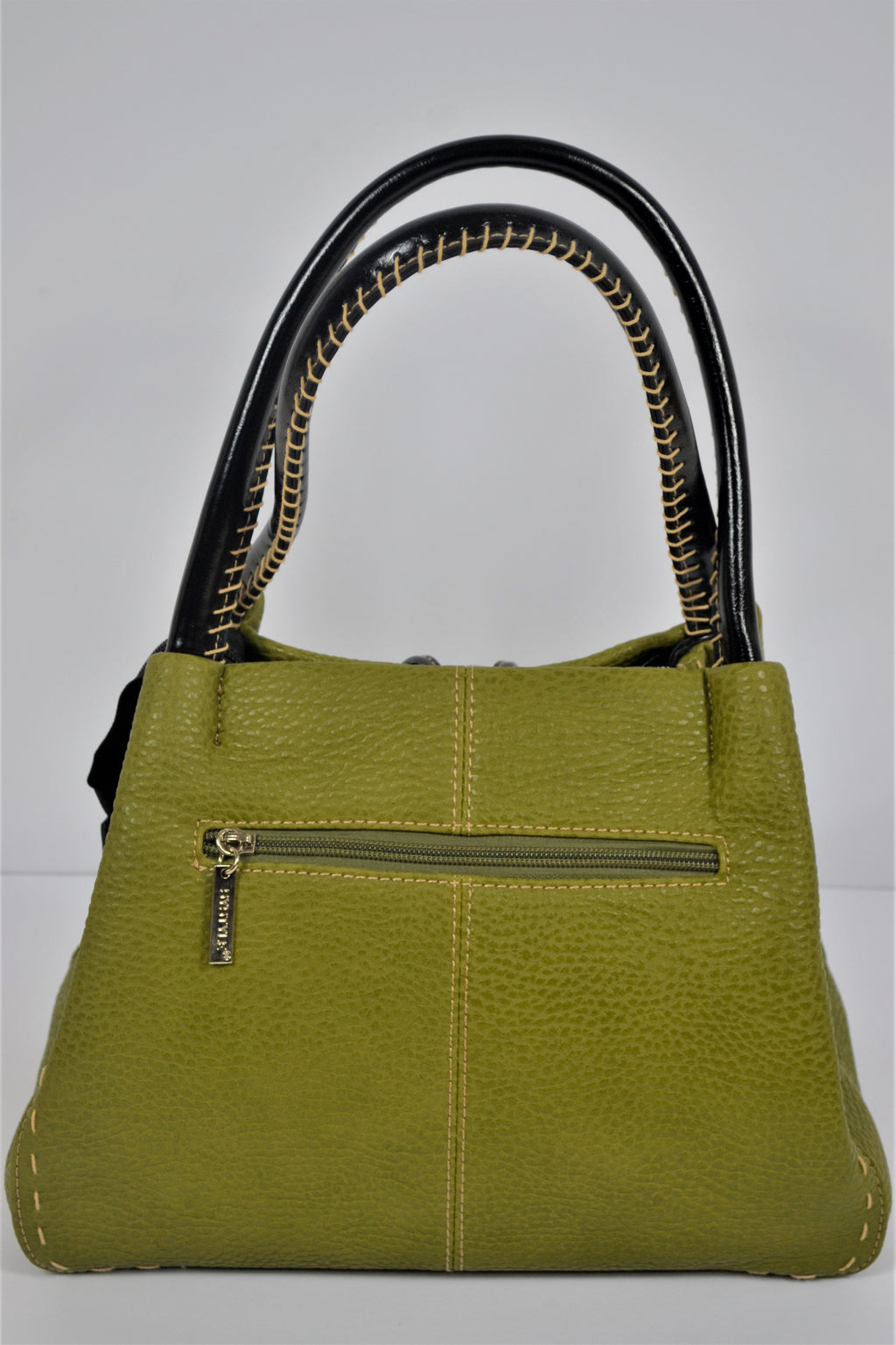 Husen Moda Green Button Bag