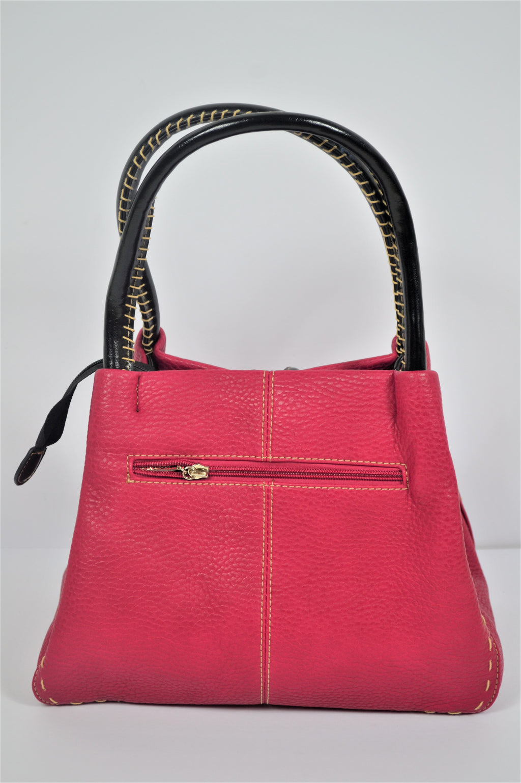 Husen Moda Pink Button Bag