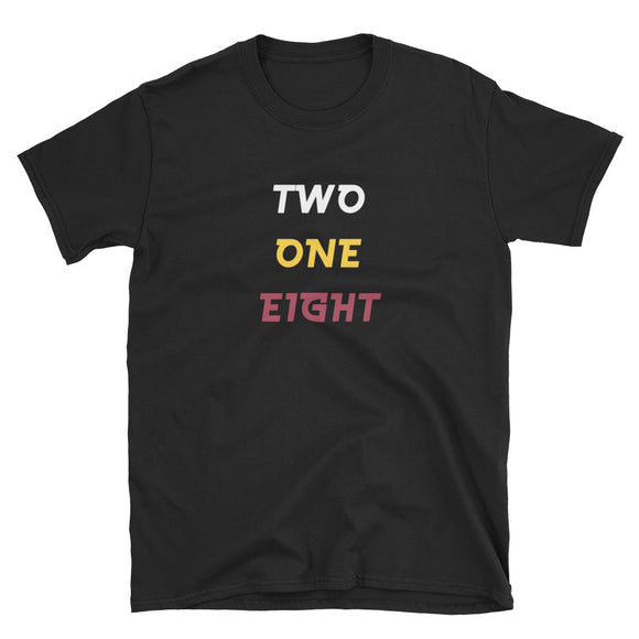 Northern Minnesota 218 Two One Eight Duluth Area Gift Short-Sleeve Unisex T-Shirt