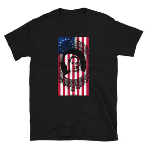 Betsy Ross Flag Portrait American Hero product T-shirt