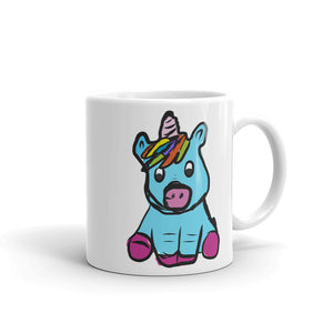 Cute Unicorn design for Girls Hand Drawn Graphic product Mug