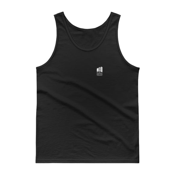 Grand Erection Construction Consultants Fake Company design Tank top