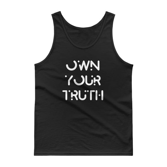 Own Your Truth Inspirational Life Coaching product Tank top