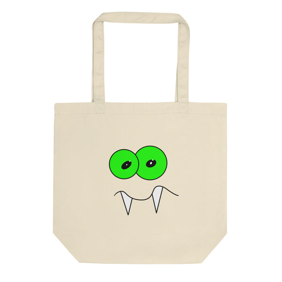 Vampire With Awkward Face Graphic design Eco Tote Bag
