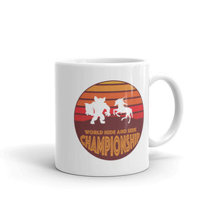 Unicorn Werewolf World Hide and Seek Championship Mug