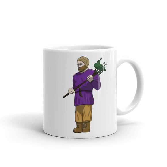 St Urhos Day Depiction Of Saint Urho Graphic design Mug