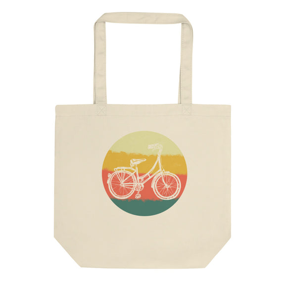 Retro Bicycle Vintage Bike Graphic product Eco Tote Bag