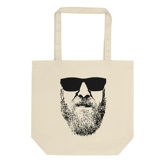Mens Funny Stylish Beard product For Real Men With Beards Eco Tote Bag