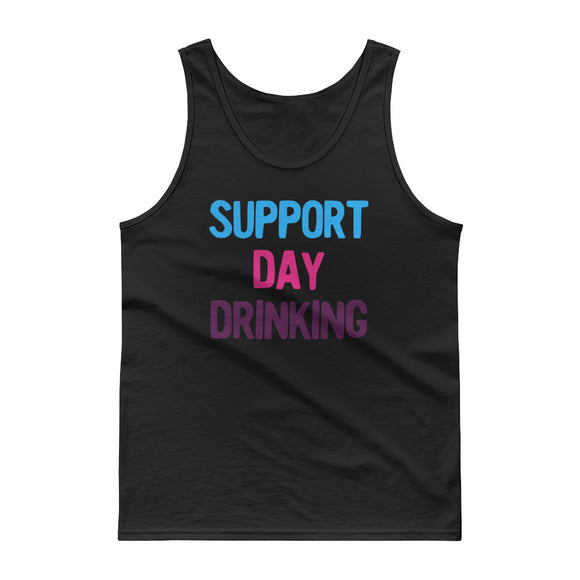 Support Day Drinking Vintage Retro 80s and 90s Style Party product Tank top