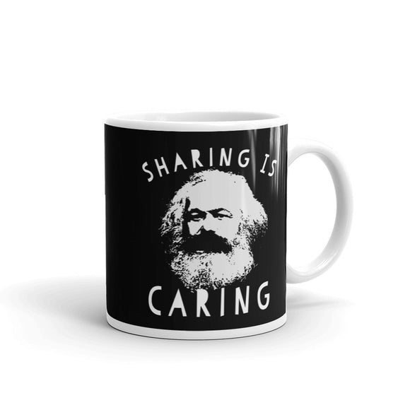 Sharing Is Caring Karl Marx Socialist Graphic print graphic Mug