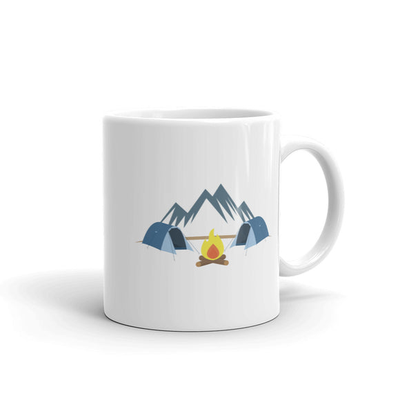 Camping product for Men Women Boys and Girls Mountains Tents Mug