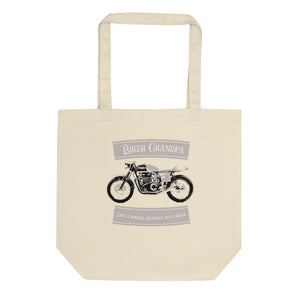 Biker Grandpa Motorcycle product Like A Normal Grandpa Eco Tote Bag