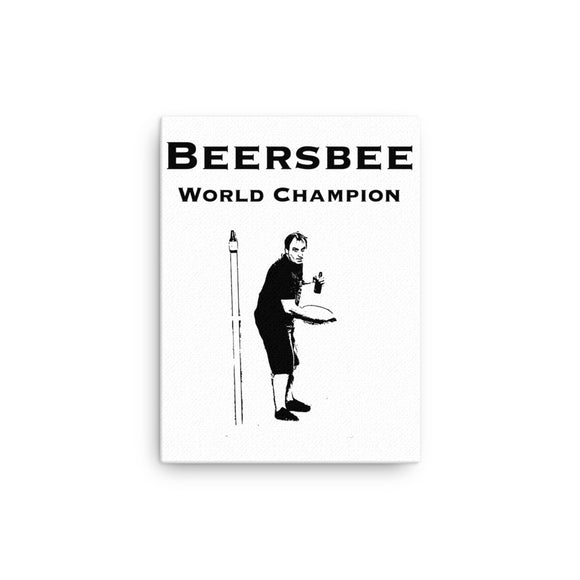 Beersbee World Champion Canvas